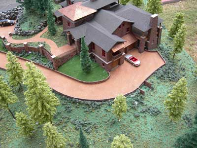 Seascape, Lot 8, Cannon Beach, OR Model by Upscale Architectural Models, Inc.