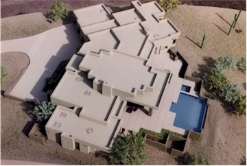 Raudzens Residence, Desert Mountain, Scottsdale Model by Upscale Architectural Models, Inc.