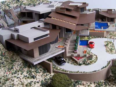 Knight Residence, Paradise Valley, AZ Model by Upscale Architectural Models, Inc.