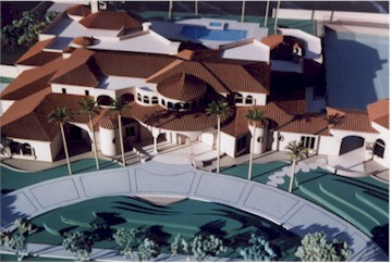 Dan Majerle Residence Model by Upscale Architectural Models, Inc.