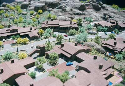 The Rocks at Reata Pass Model by Upscale Architectural Models, Inc.