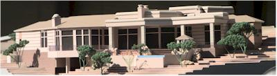 Singh Residence Model by Upscale Architectural Models, Inc.