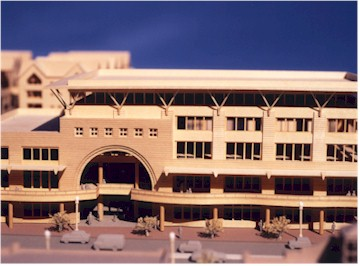 Sixth & Myrtle, Tempe, AZ Model by Upscale Architectural Models, Inc.