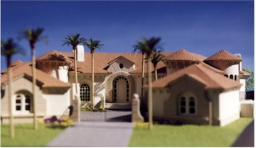 Lang Residence, Lot 29 McCormick Ranch, Scottsdale Model by Upscale Architectural Models, Inc.