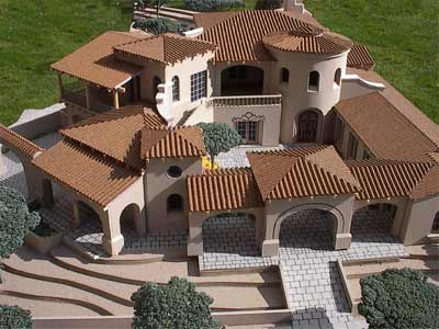 Lot 1219 Ken Brown Residential Scale Model by Upscale Architectural Models, Inc.