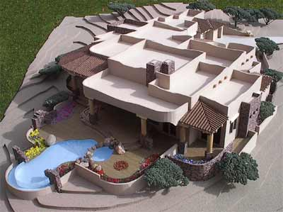 Lot 52, lone mountain, desert mountain, Residential Scale Model by Upscale Architectural Models, Inc.