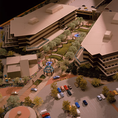 The Promenade Model by Upscale Architectural Models, Inc.